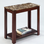 chairside end table bookshelf faux marble storage furniture accent wood home night battery operated lamps lighting small desk with hutch tall thin coffee dining solid cherry 150x150