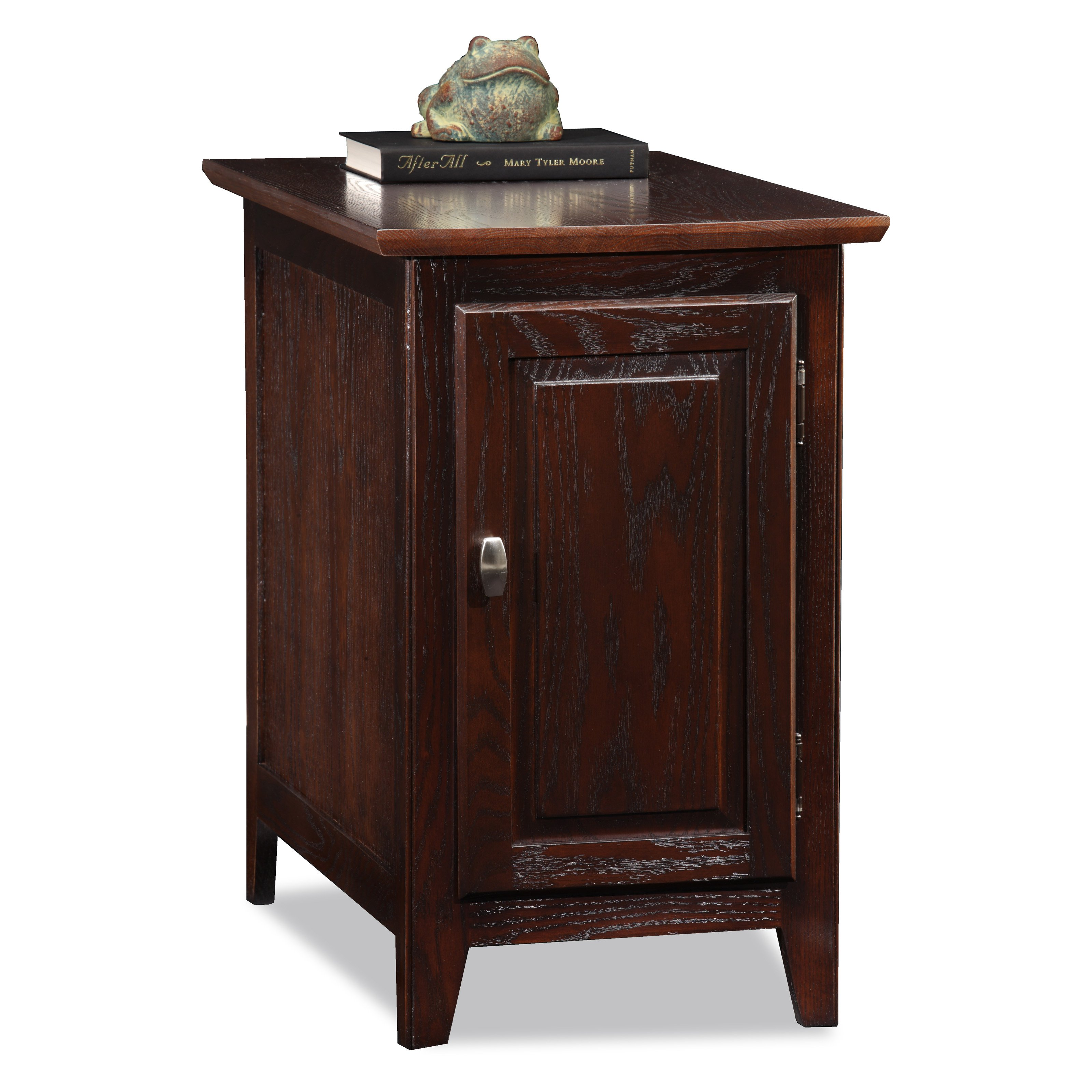 chairside side end table snack storage stand with elephant leick rectangle chocolate oak wood cabinet corner accent contemporary dining room sets industrial sears coffee high