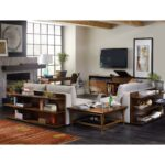 chapter two sofa bookcase console with shelves hooker furniture products color studio table between accent chairs west elm terrace coffee white couch covers big lots couches tall 150x150