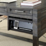 charging station end table decor idea plus modern hudson writing desk with power center mcaleers office for small blue wood and metal coffee jofran chairside base ideas cedar 150x150