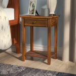 charlton home andress drawer nightstand reviews homer accent tables with charging station farmhouse coffee table set top furniture half moon mirrored console west elm outdoor 150x150