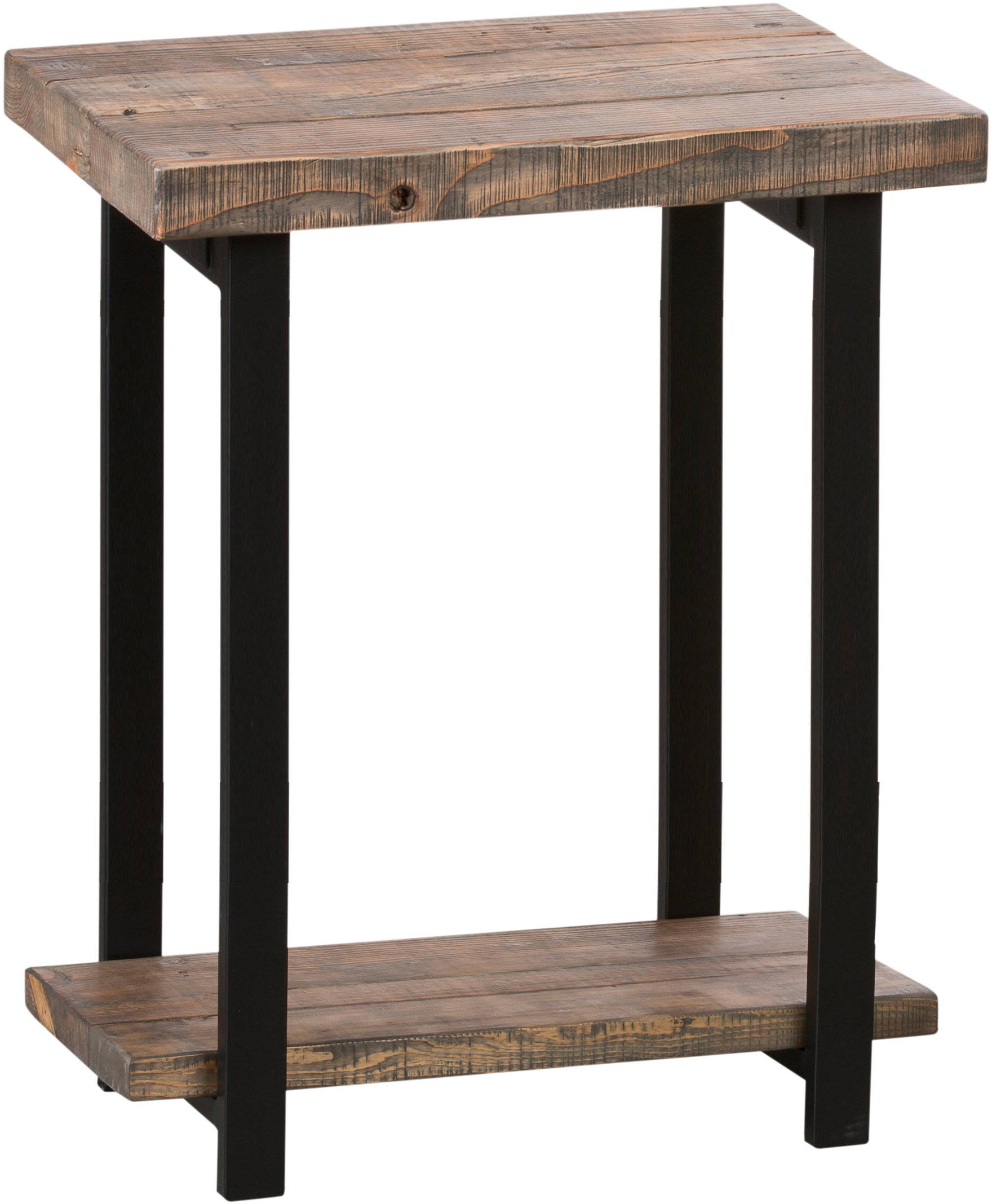 charlton home crosskennan end table with storage birch lane veropeso twisted mango wood accent large grey clock outdoor bar cover swivel chairs for living room tables from target