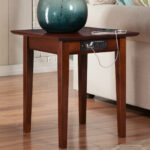 charlton home ithaca end table with charging station reviews wood accent five below under cabinet wine rack decoration design sterling and noble clock all tables bedroom interior 150x150