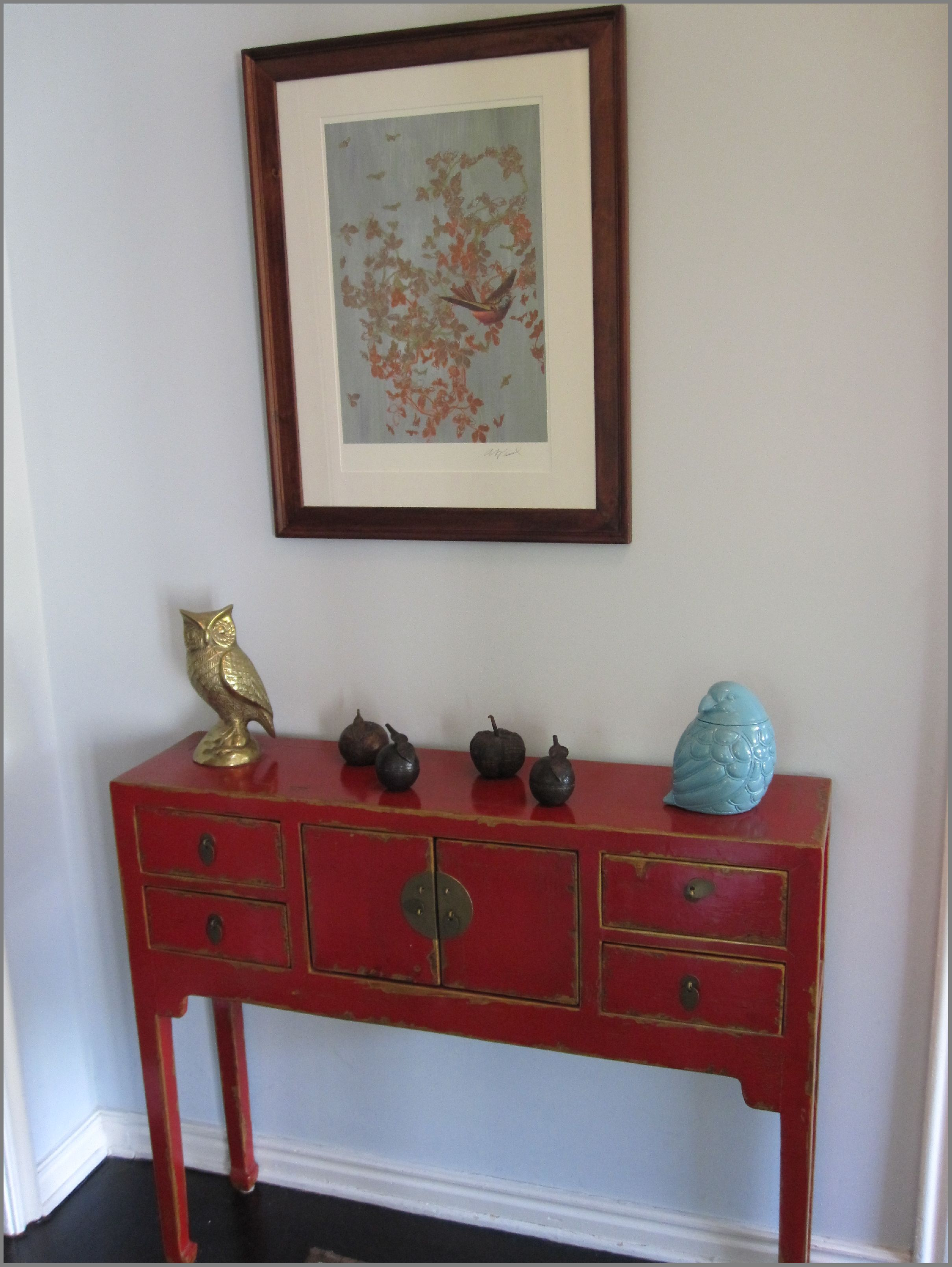 charming monarch specialties hall console accent table lowe amazing red chinese entry not going out like that small furniture living ceramic lamp allen jones plexiglass cube gold