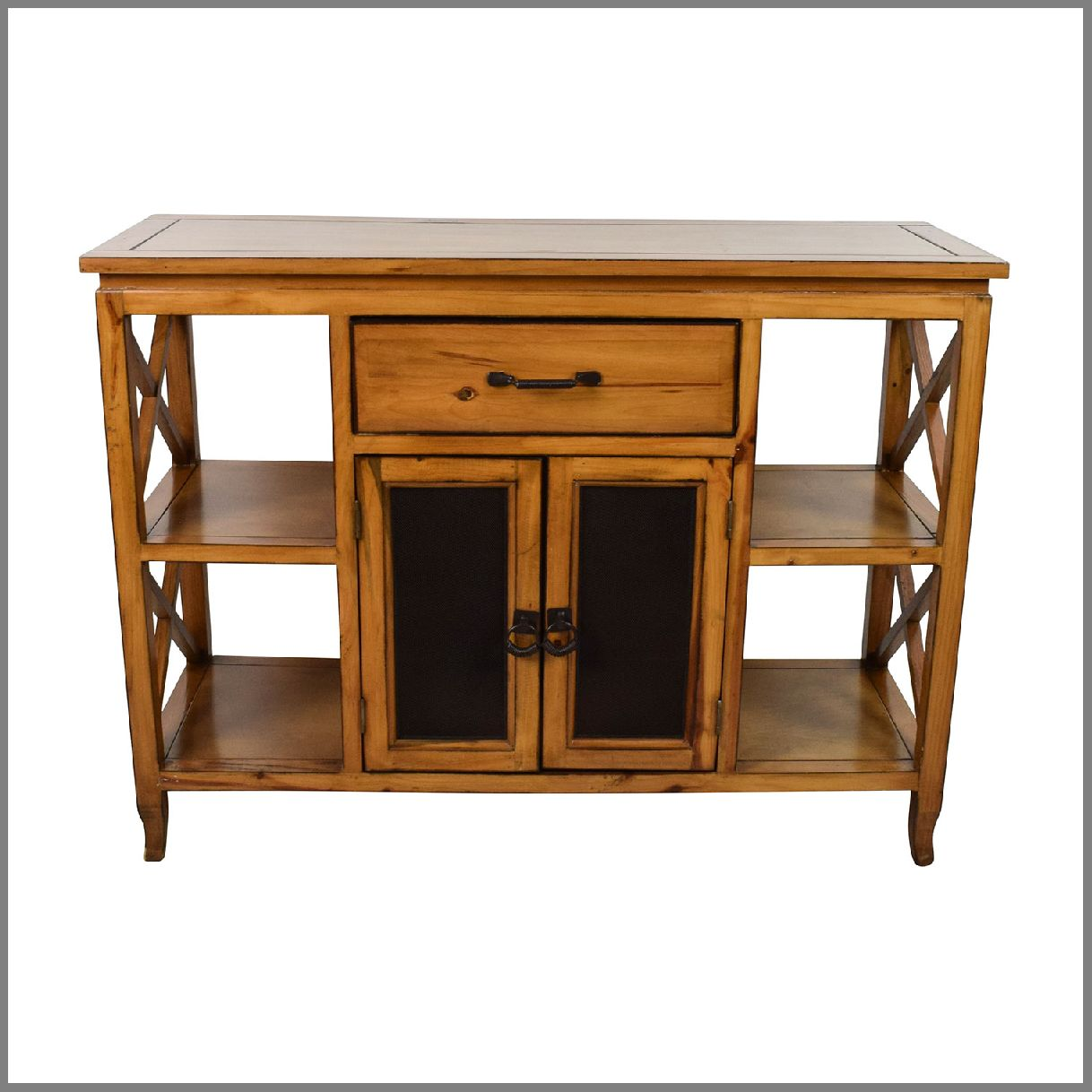 charming monarch specialties hall console accent table lowe off brown wooden entrance storage entryway with lamps usb west elm room planner small grey end nautical light fixtures