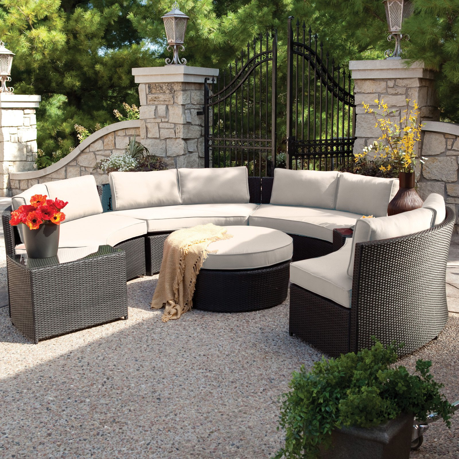 charming outdoor sectional furniture cushions diy couch garden hampton plans canadian set sets cover covers replacement bay sunbrella corner patio tire wood modern sandhill sofa