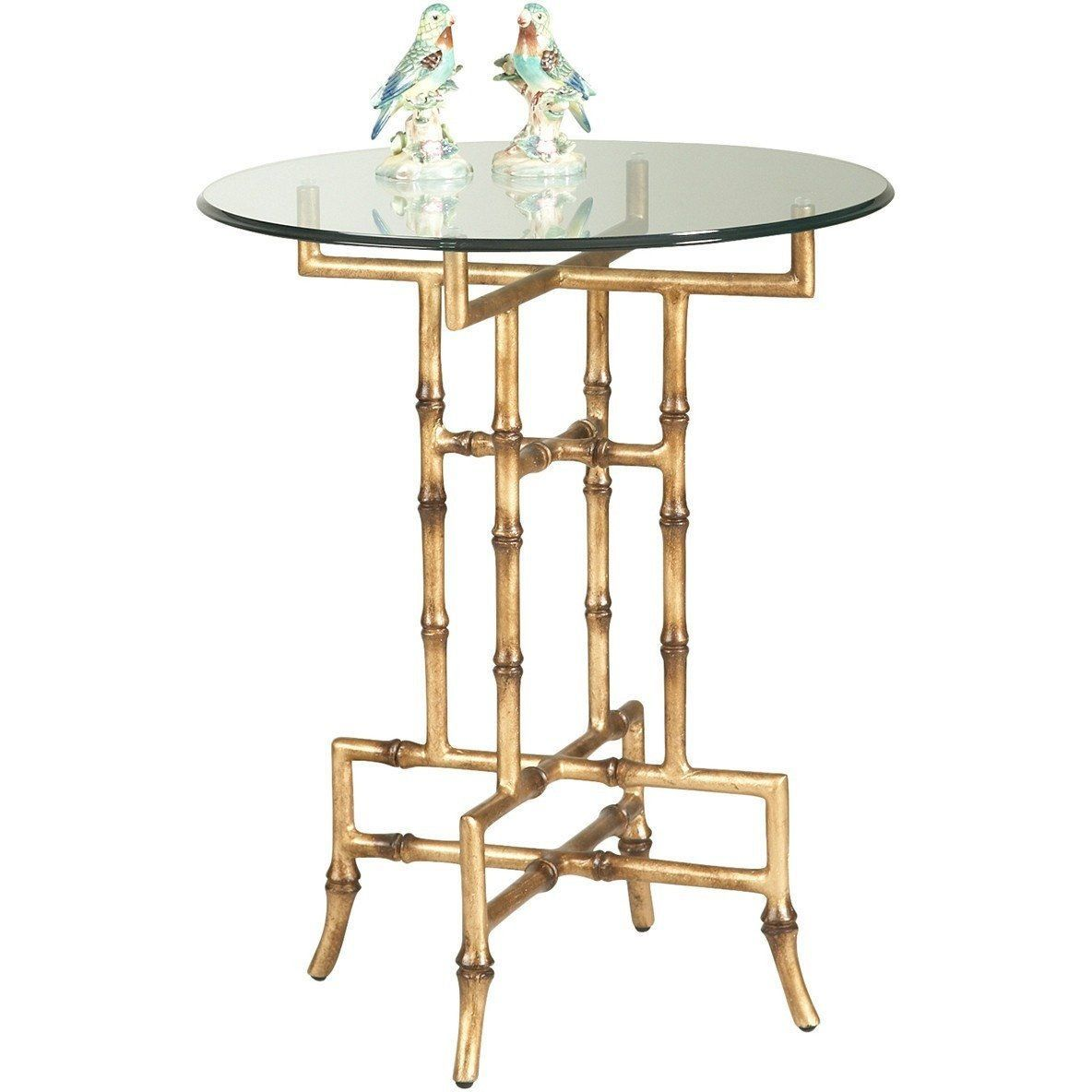 chelsea house camrose antique gold accent table lovecup dining mirimyn extra long runners with wheels inch pottery barn tablecloths bathtub patio garden cordless lamps side cloth