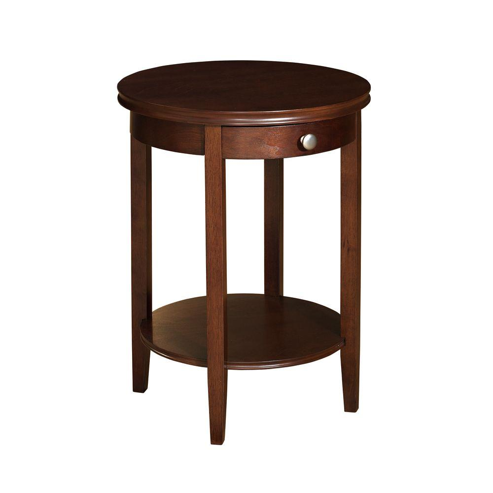 cherry accent table with charcoal black metal stunning powell shelburne the outdoor folding tures gallery free shipping orange lamp coffee linen top legs treasure chest furniture