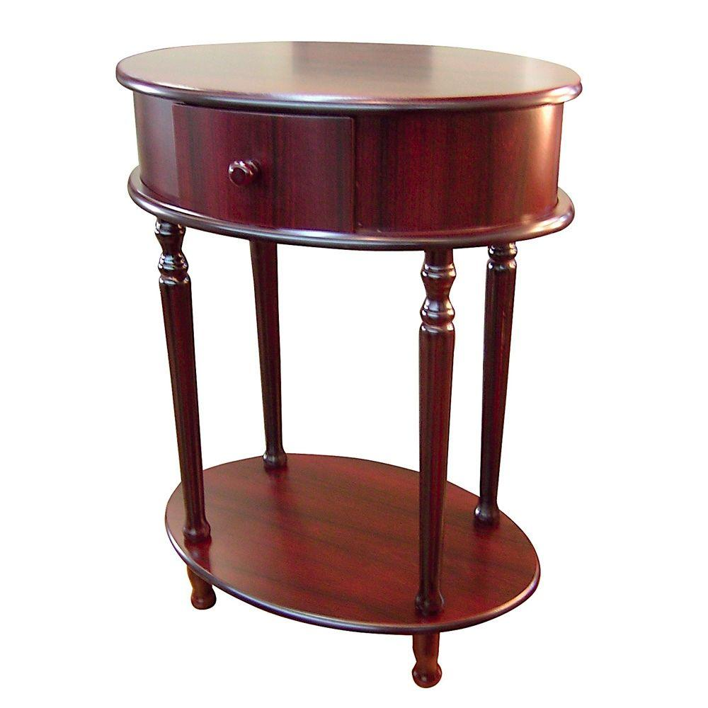 cherry storage side table the end tables small oval accent cool lamps red oriental lamp jcpenny bedding porcelain pottery barn white bedside pedestal patio furniture covers round