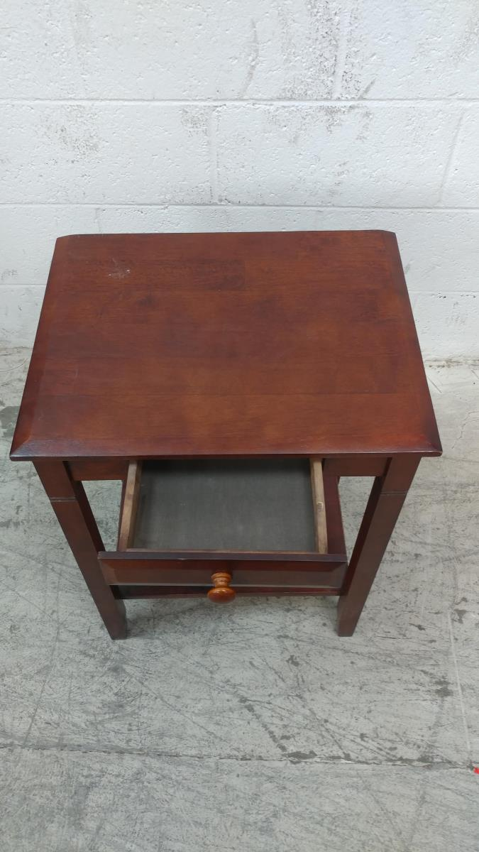 cherry wood single drawer accent table lot homesense lamps outdoor patio covers nate berkus side mini crystal lamp modern wooden coffee designs pier one frames oak threshold trim