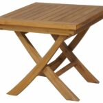 chic teak premium grade wood folding side table small accent drink tables made garden outdoor antique nightstands bronze rain drum oriental desk lamp cream universal furniture 150x150