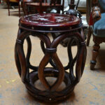 chinese rosewood mother pearl inlay jichbarrel stool side dsc accent table counter height sofa dark brown coffee set gold glass lamp outdoor grill work house interior decoration 150x150