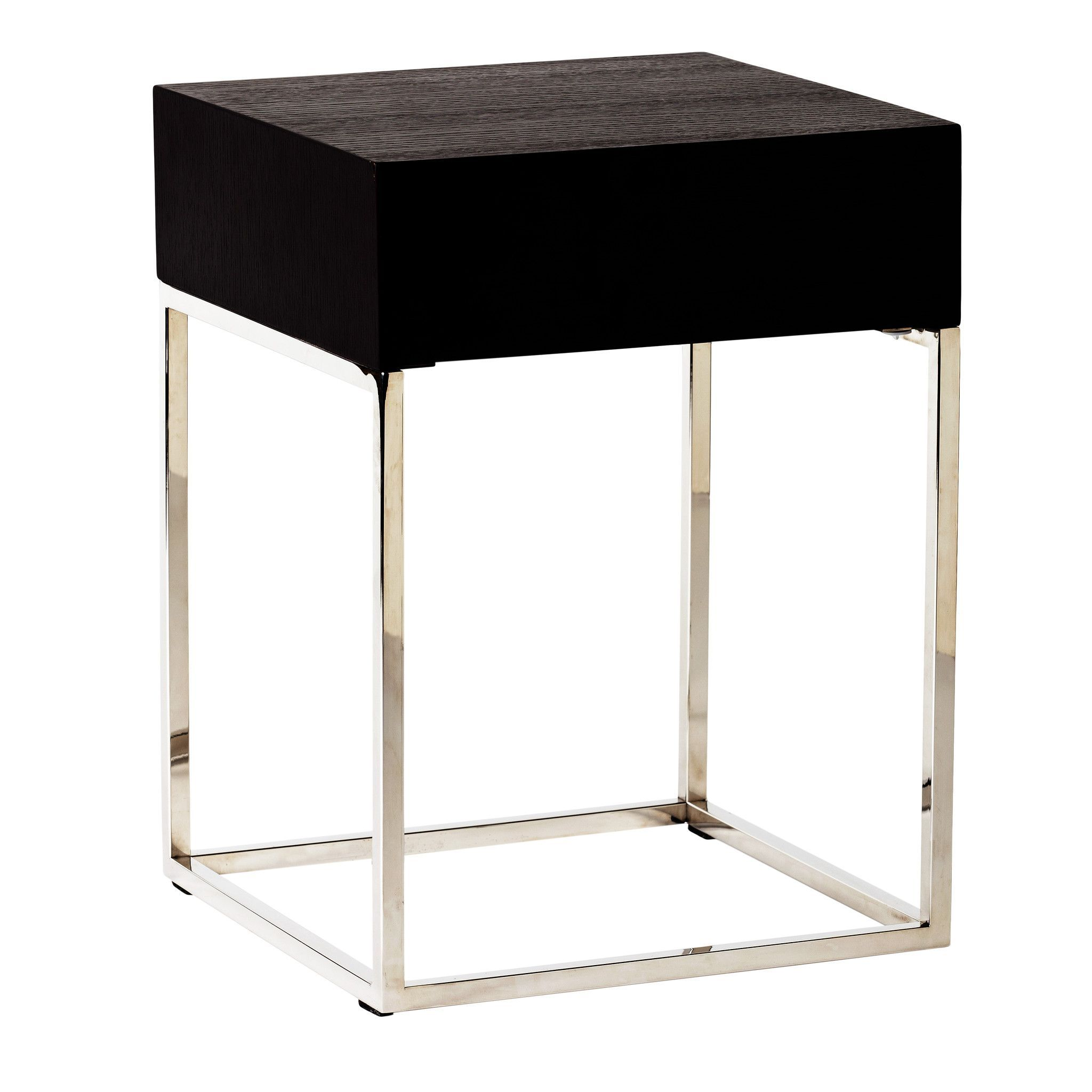 chio side table black oak products janika accent sidetable diy base for glass top cabinet with doors grey wood ikea desk kitchen breakfast pottery barn wall wooden threshold