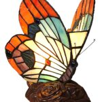 chloe lighting kacy stained glass butterfly accent table lamp main inch tall placemat designer lamps stool entrance way tables unique home decor high set reading chair for bedroom 150x150