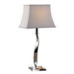 chrome twist table lamp welcome home accents pier one accent lamps counter height round pub pottery barn patio dining clearance glass mirror nightstand grey and white bunnings 150x150