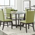 ciara espresso round dining set room sets dark wood green accent table butler specialty company outdoor patio lights furniture fargo center decor tables pub counter height chairs 150x150