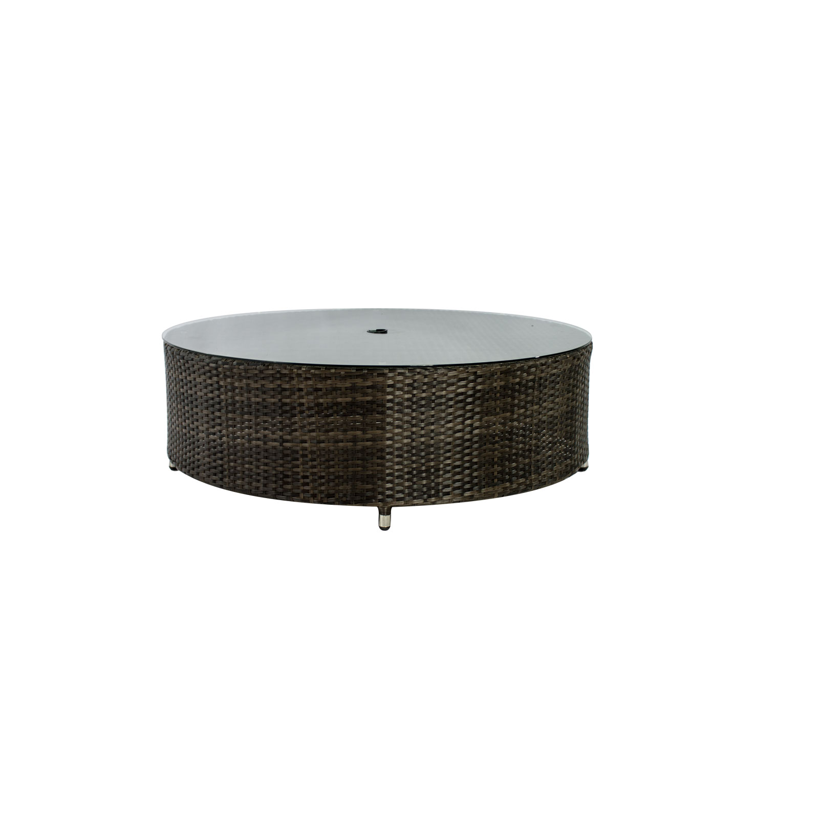 circa coffee table round with umbrella hole source furniture outdoor side red entryway rustic end accent storage cast aluminium garden black and brown tables corner curio cabinet
