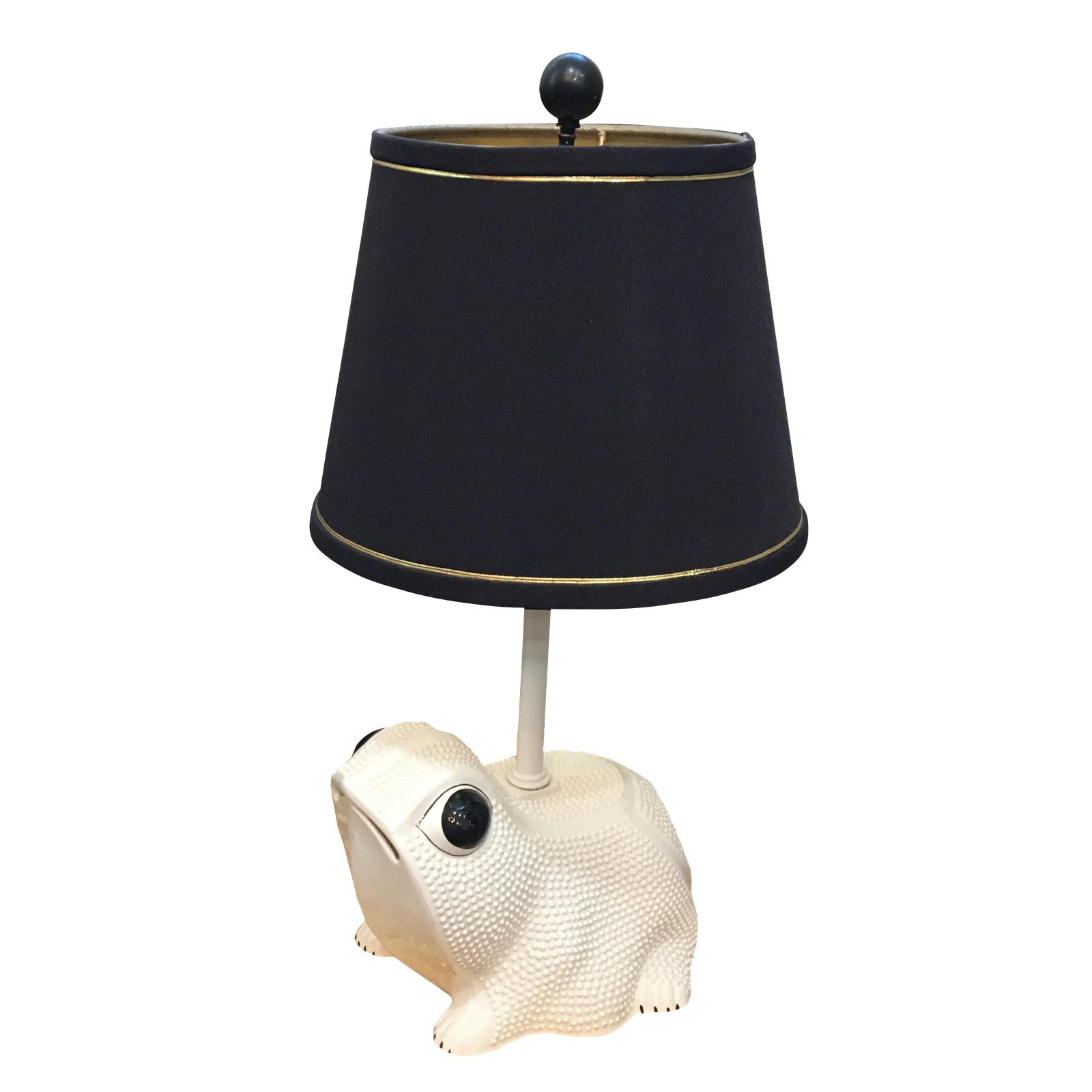 circa italian frog table lamp chairish accent lighting seattle small battery powered lamps black round pedestal warwick furniture pub garden marble top side bronze metal patio and