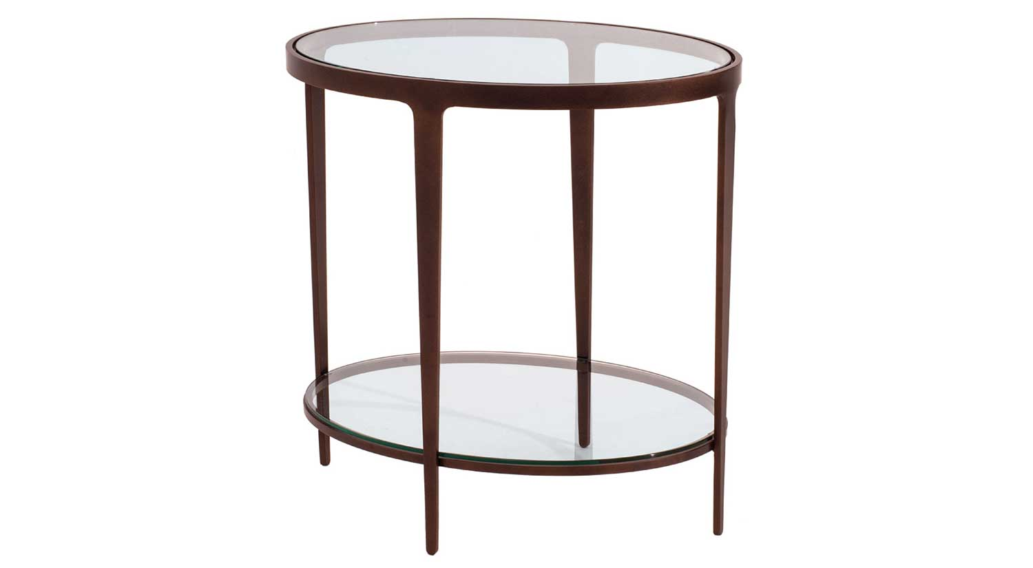 circle furniture ellipse end table designer accent tables bronze living dining area round coffee legs foyer narrow side cover cement modern outdoor storage chest rustic pine patio