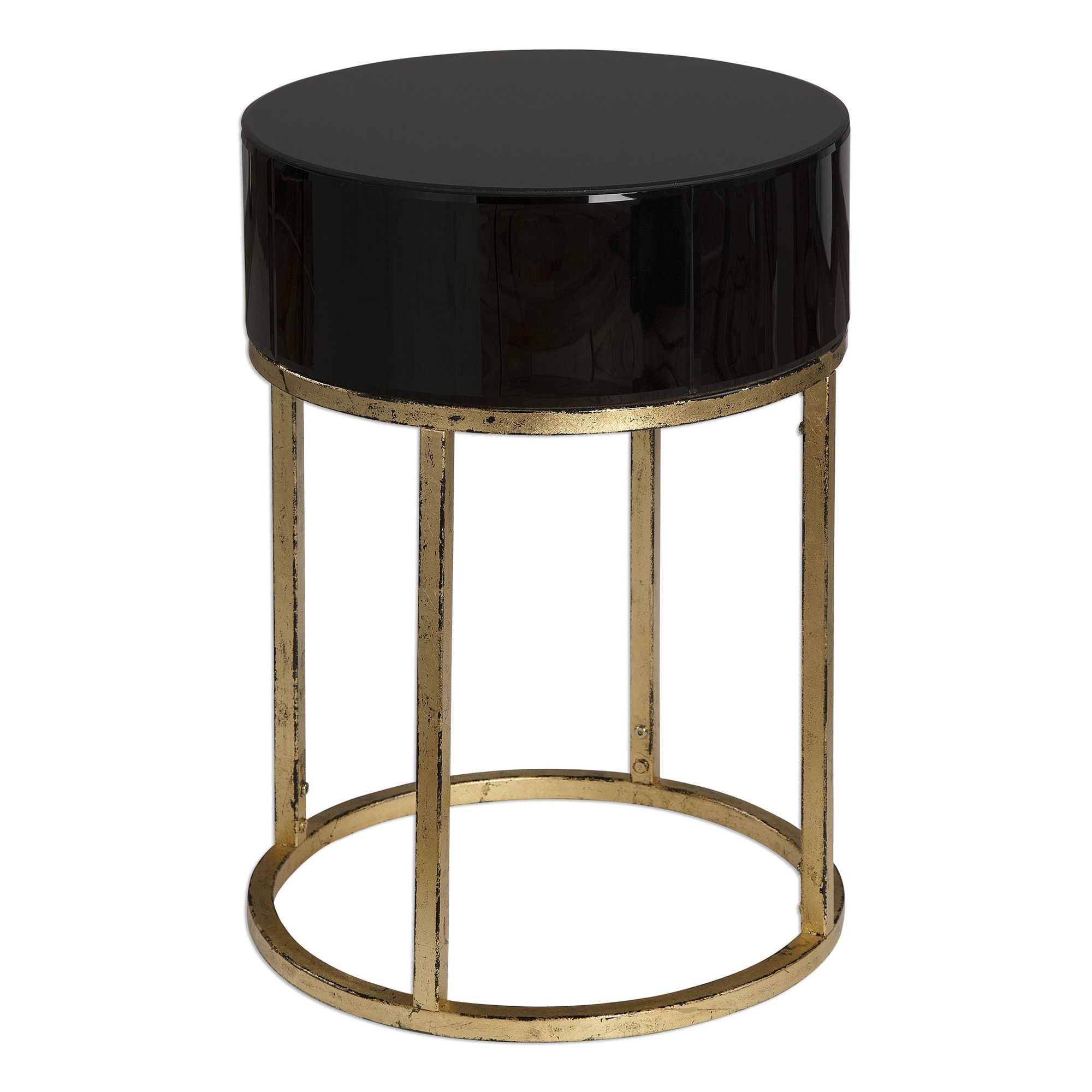 circular caged frame curved accent table antique gold mathis stool side bathroom styles tall chairs small square tablecloth ikea wall storage ideas dining room furniture white and