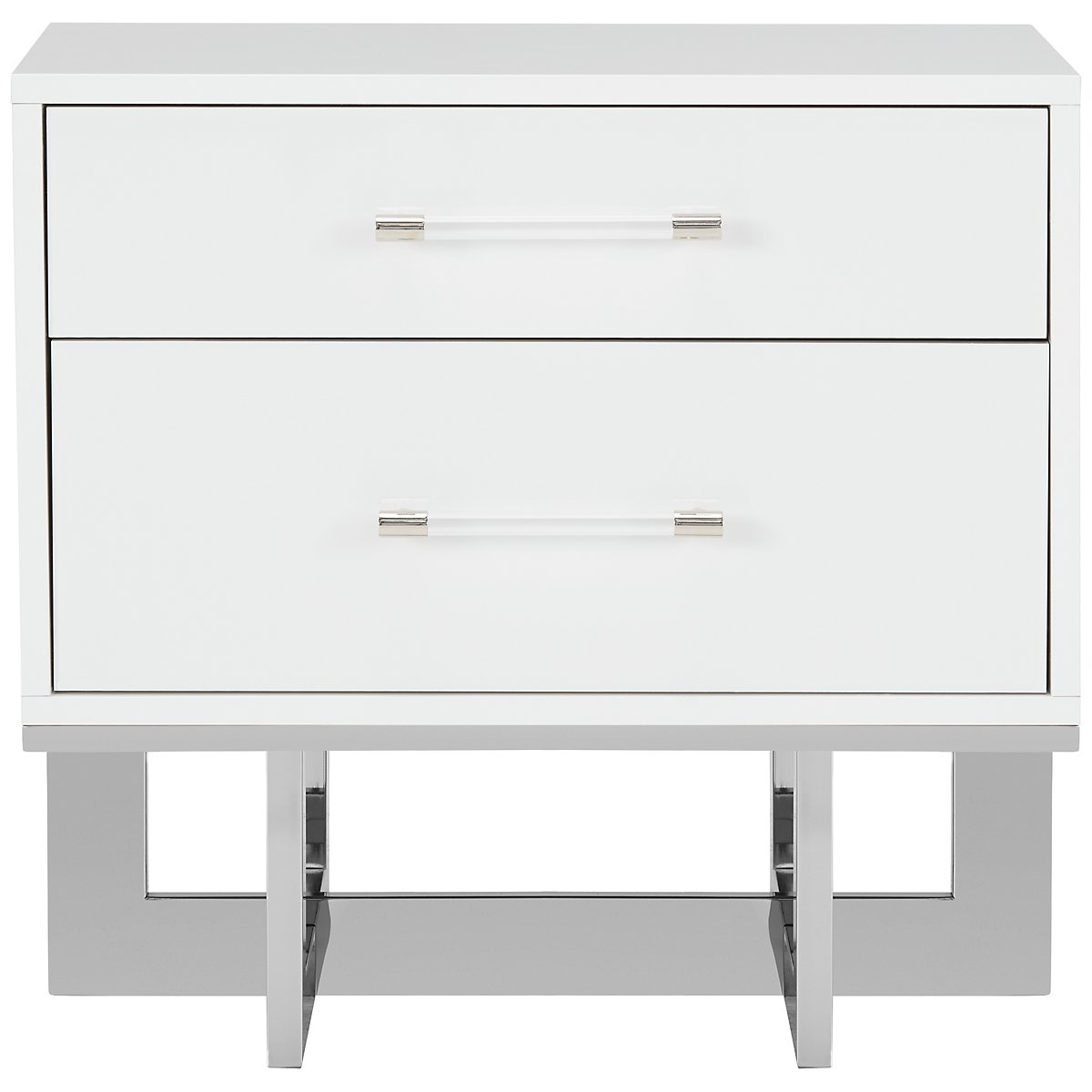 city furniture cortina white nightstand storage pedestal accent table craigslist leather couch gold kitchen hardware ashley sofa mirrored desk floating shelf kit oak beach chairs