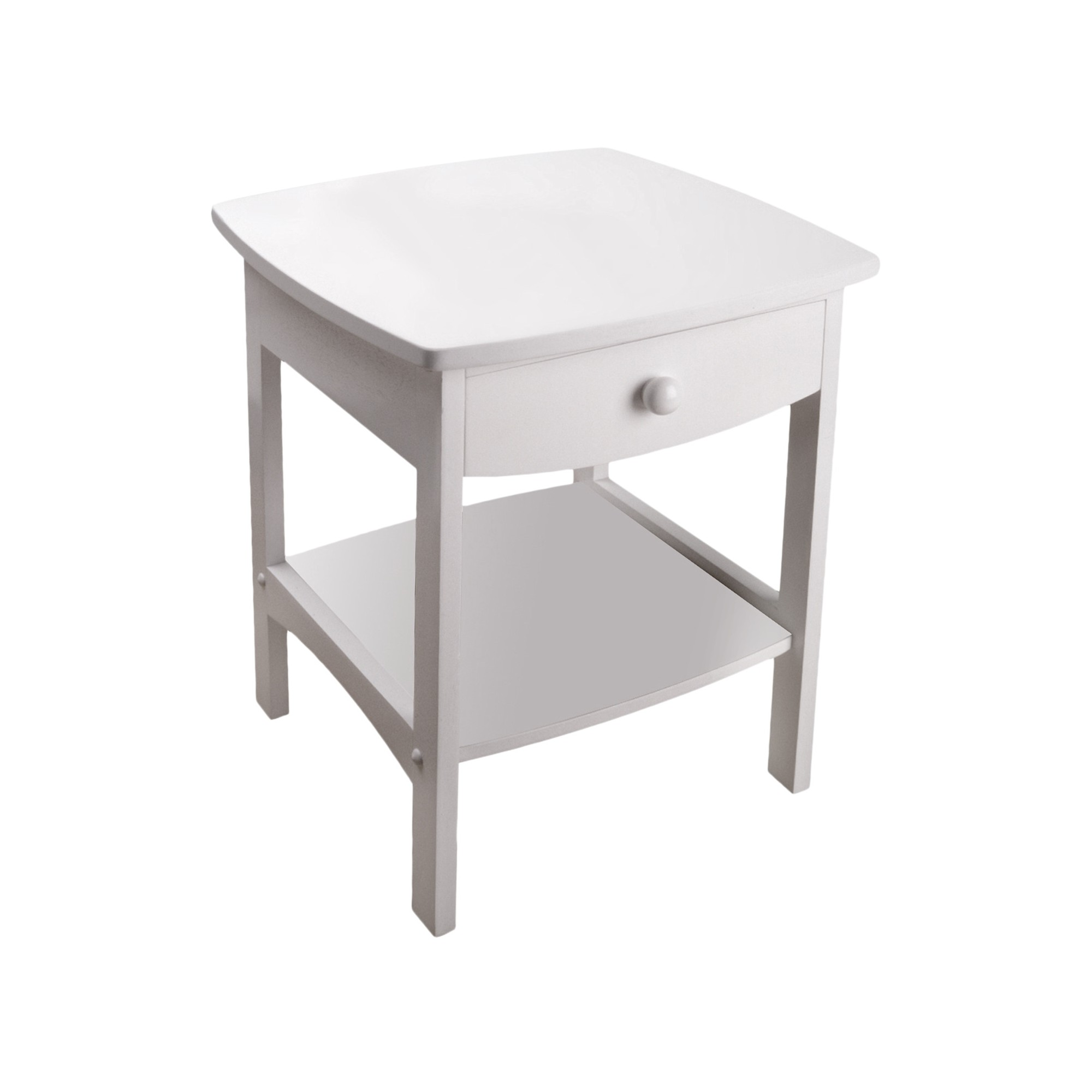 claire accent table white winsome products end tables wood brown leather chair scandinavian side round patio cover verizon tablet small tall coffee dorm room necessities ott cool