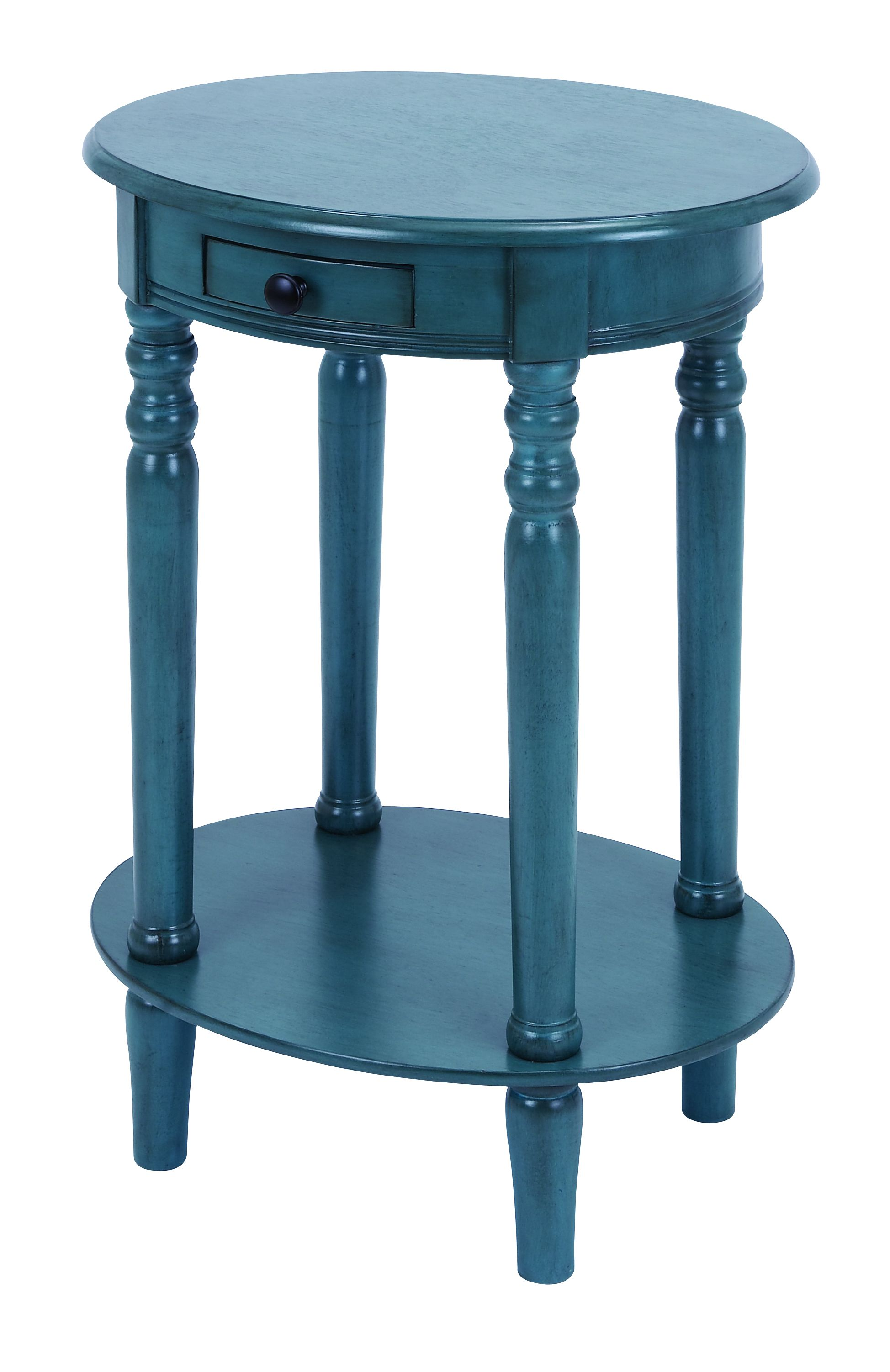 classic accent table with mahogany aqua blue restoration hardware metal side round nightstand brass frame coffee teal furniture pineapple lamp antique ese lamps and glass standard