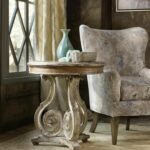 classic european design and farmhouse style combine into this accent table elegant scroll the beautifully curved pedestal creates eye catching room board rugs ikea wall desk combo 150x150