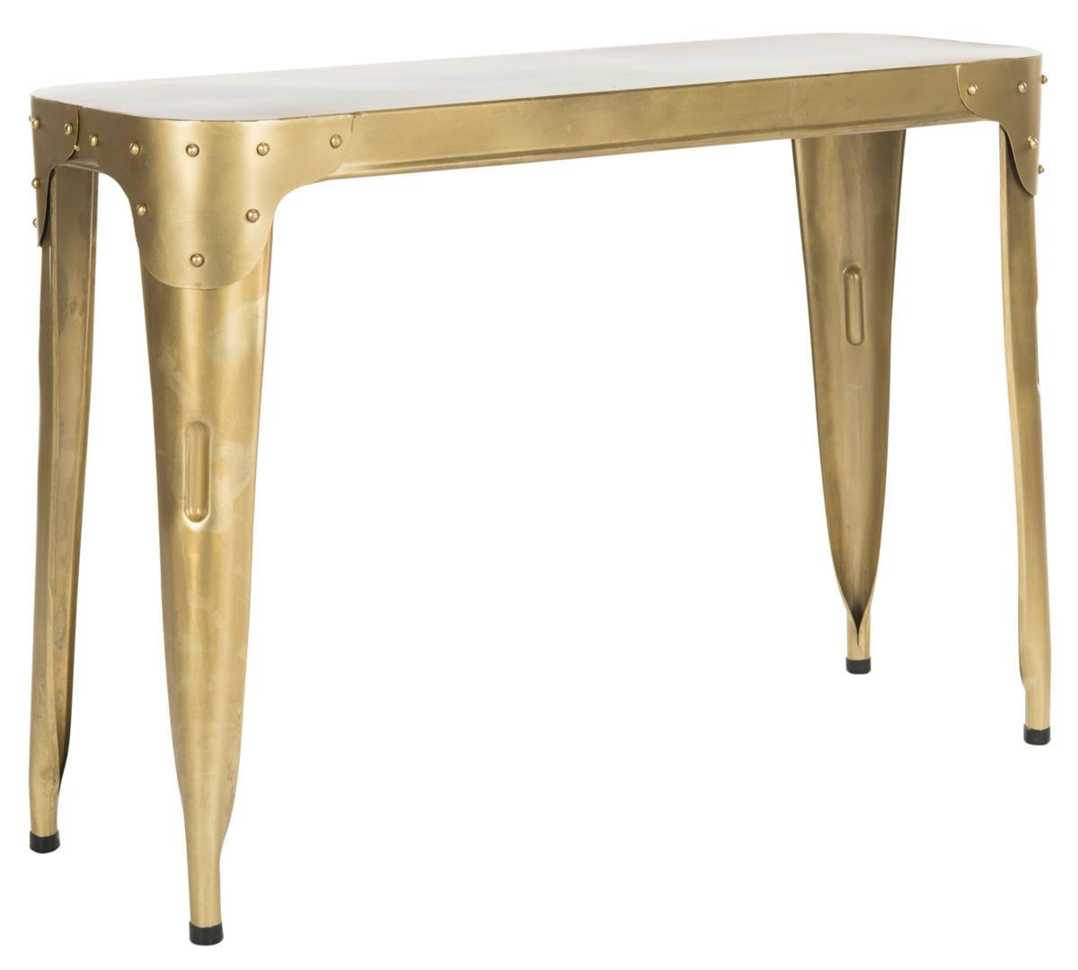 classic iron console table tables and consoles target waldo accent bedding with matching curtains ikea closet organizer glass coffee end set uttermost mirrors gold night round