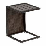classic outdoor side table dark brown wicker design furnishings slim console with drawers ballard designs chair cushions round granite top coffee dale tiffany dragonfly lily lamp 150x150