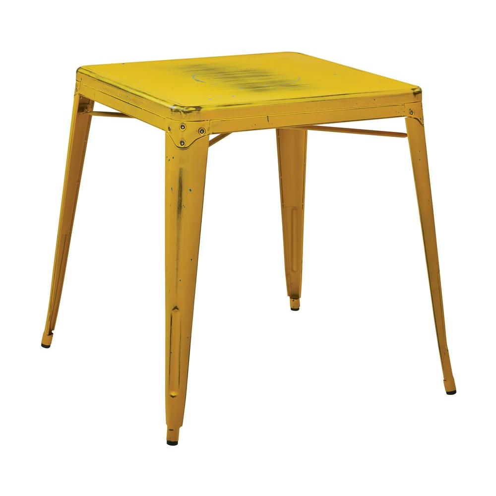 classic yellow accent tables living room furniture the home antique with blue specks osp designs end table bristow side large sofa patio for small patios circular glass gas grills