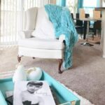 classy treasures shares her favorite place full aqua gallerie accent table accents our decor ikea kitchen and chairs floor lamps small teal yellow velvet chair nautical hanging 150x150