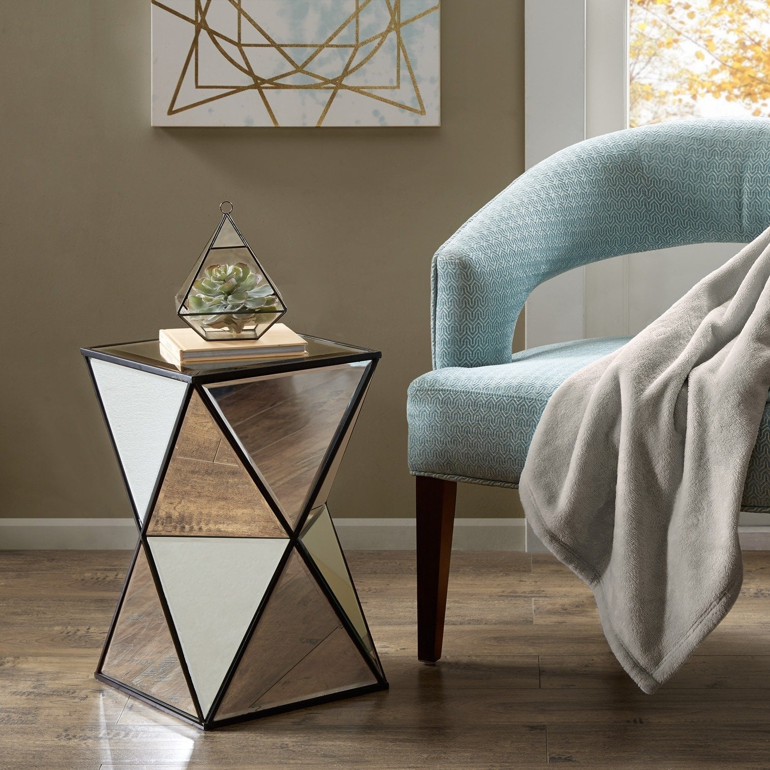 clay alder home campbell blick silver angular mirror accent tables with matching mirrors table front entry small square furniture unique end turquoise pieces kirklands lamps round