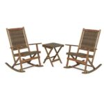 claytor folding eucalyptus outdoor furniture two rockers and side foldable wicker accent table brown narrow dining topper patterns sewing antique pedestal end with storage ashley 150x150
