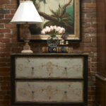 clean lines hand painted accents headline winter market habersham tuscan drawer chest with art accent tables chests pier sofa couch arm table quality lamps vintage furniture 150x150