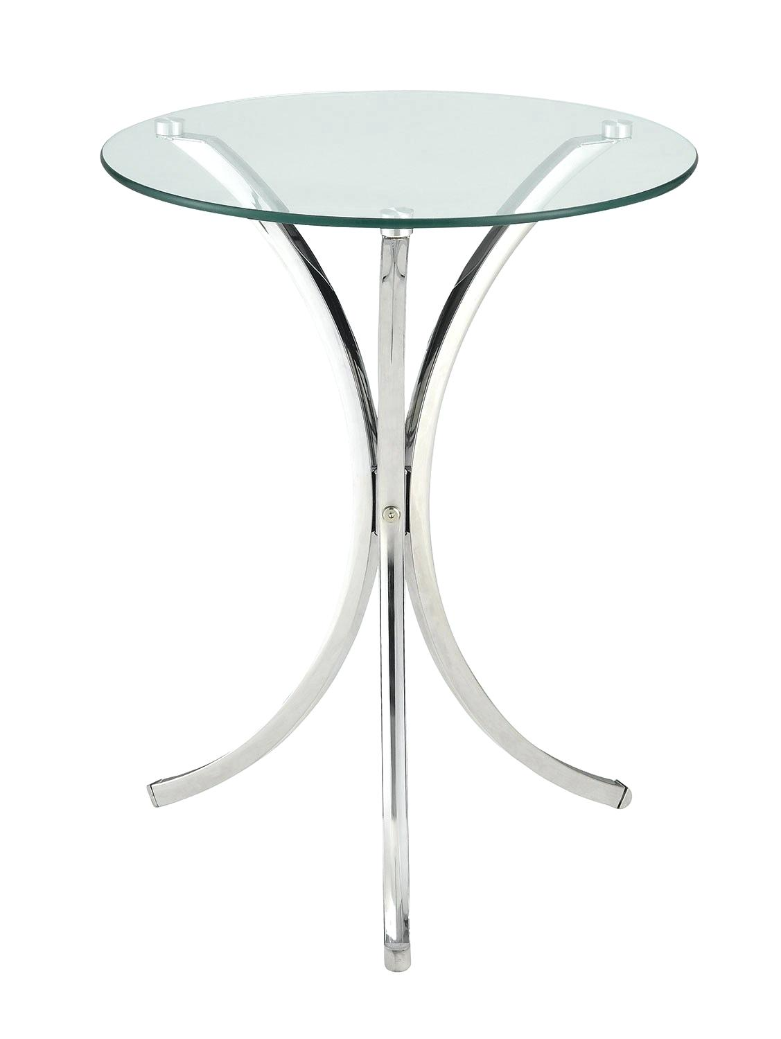 clear accent table modish metal with glass and coaster tables tempered fine furniture acrylic zella black antique stools hampton bay patio set tablecloth factory pier one wall