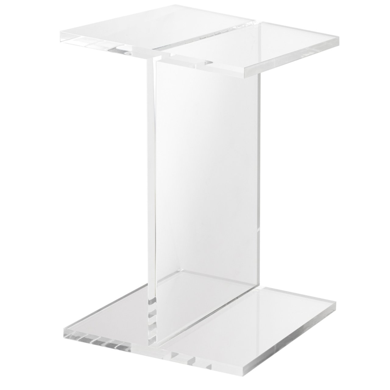 clear acrylic accent table free shipping today west elm paint colors set bedside tables cordless touch lamp rope inch tablecloth fire small solid wood coffee designer sofa allen