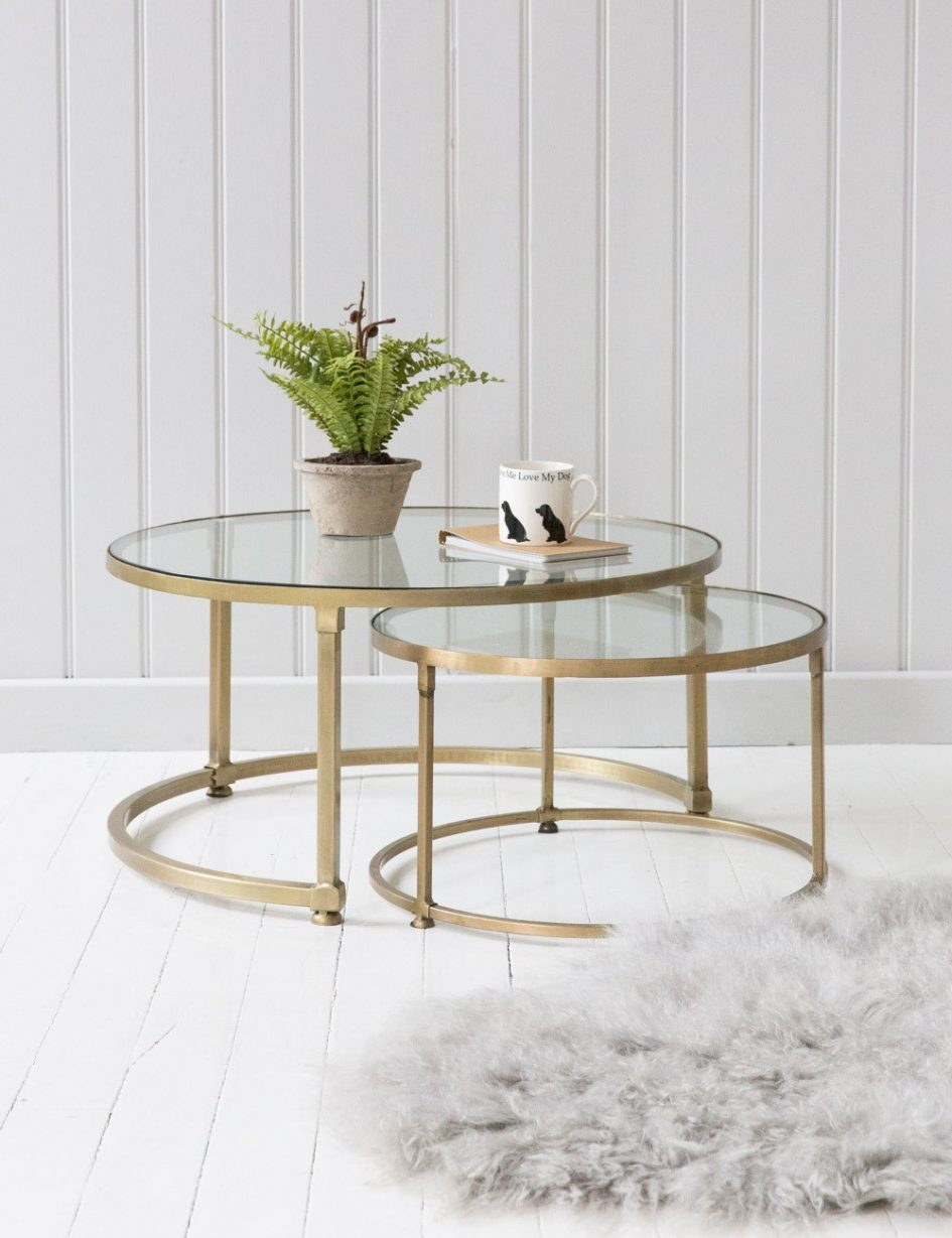 clear acrylic nest tables best marble nesting coffee table modern glass gold accent plastic folding side living room and end sideboard outdoor beverage cooler white round rope
