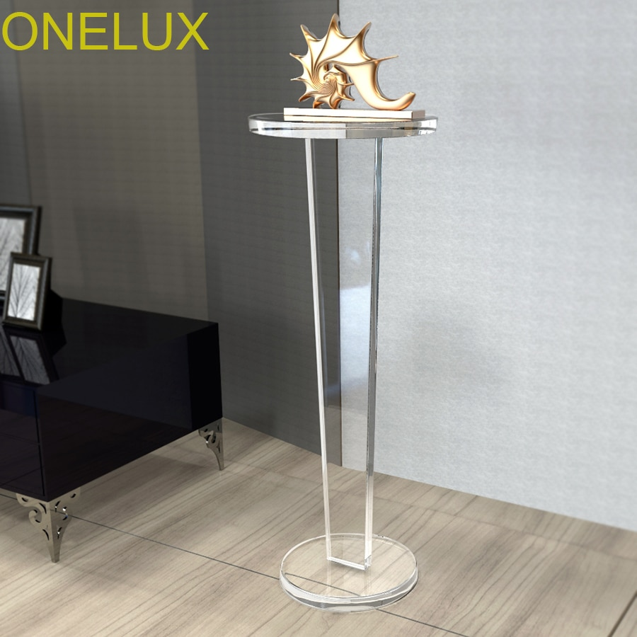 clear acrylic vintage pedestal and accent table lucite transparent plant sculpture stand console tables from furniture group collapsible side modern black end porcelain vase lamp