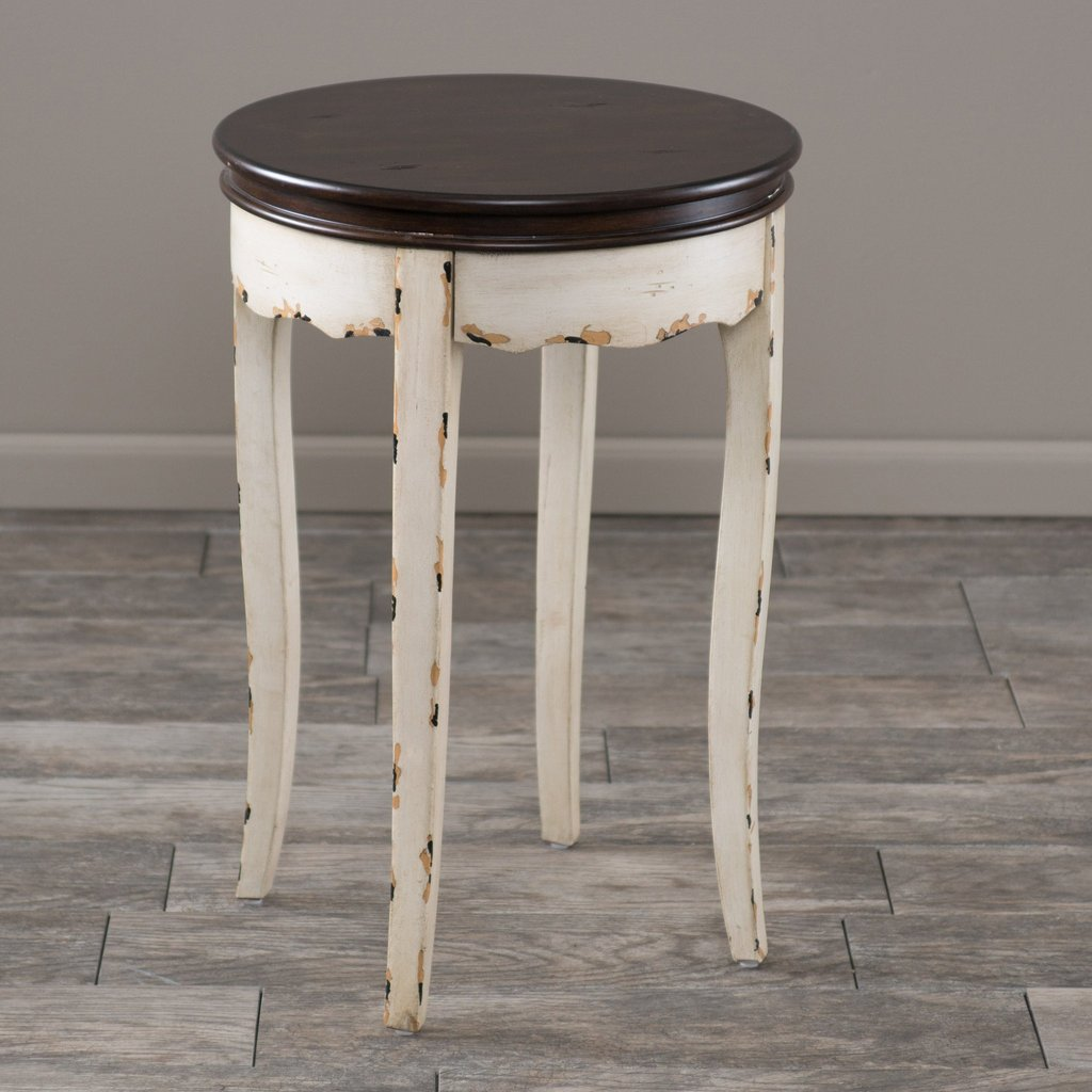 clement antique white brown wood accent table gdf studio wooden ballard designs outdoor furniture vintage retro dining and chairs fitted nic covers tall skinny lamps gold silver