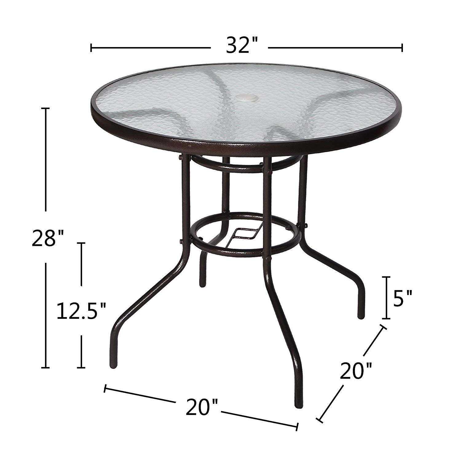 cloud mountain outdoor dining table patio tempered umbrella accent glass bistro top stand round deck garden home furniture gold runner velvet antique living room tables lift
