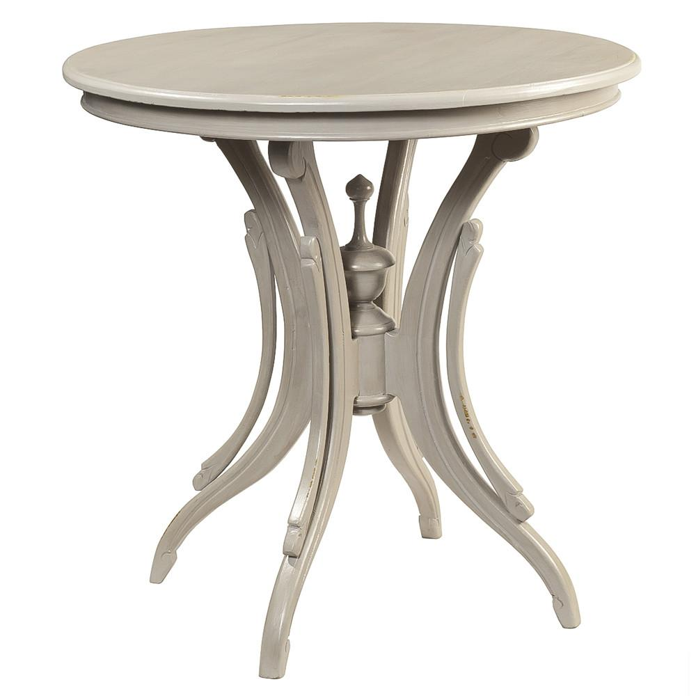 clove round accent table glacier gray wrightwood furniture pier one imports patio small side lamps decorative chest drawers console uttermost laton mirrored coffee ideas bedroom