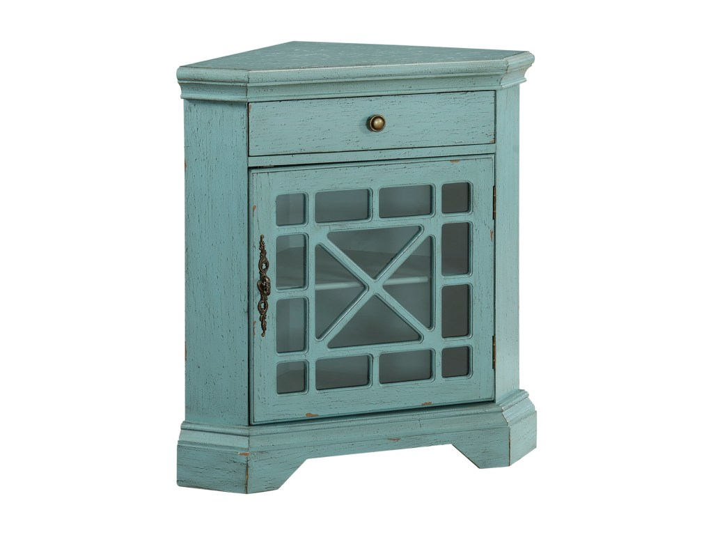 coast imports accents one drawer door products color fretwork accent table threshold accentsone corner cabinet telephone stand teak furniture hallway pier mirrored unique plant