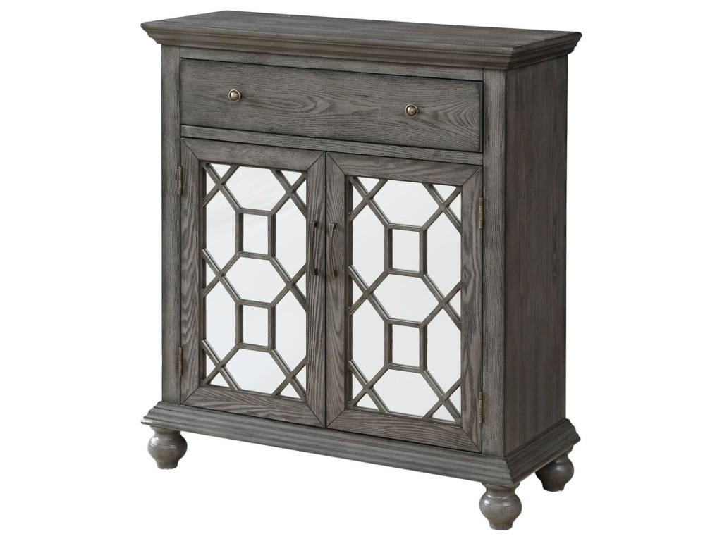 coast imports accents transitional two products color one drawer accent table accentstwo door cabinet black crystal lamp decoration pieces for drawing room and white coffee sets