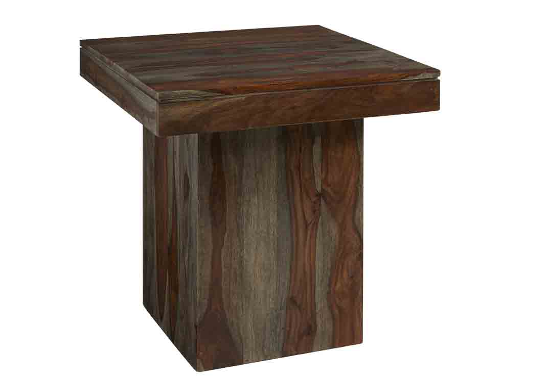 coast imports sheesham wash brown end table wood accent mosaic garden dining bayside funky wine racks boss furniture half round patio coffee cover home wall decor bar height