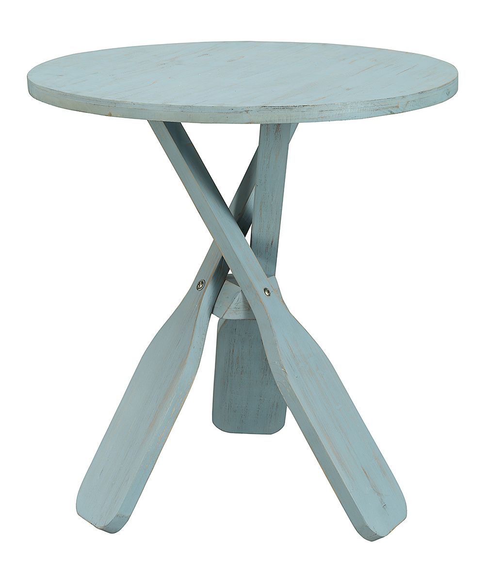 coast light blue oar accent table main share modern black lamp navy chair patio side with umbrella hole large round linen tablecloths holiday placemats and napkins pink chandelier