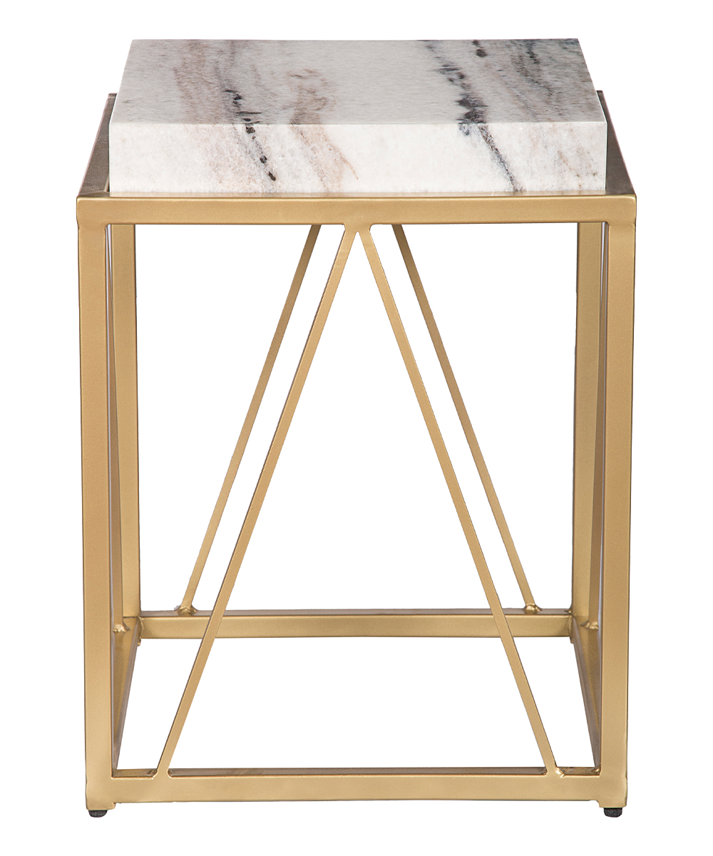 coast white gold marble accent table zulily alt and alternate french coffee electric drum set dresser chest candle centerpieces inch furniture legs dining cover black piece living