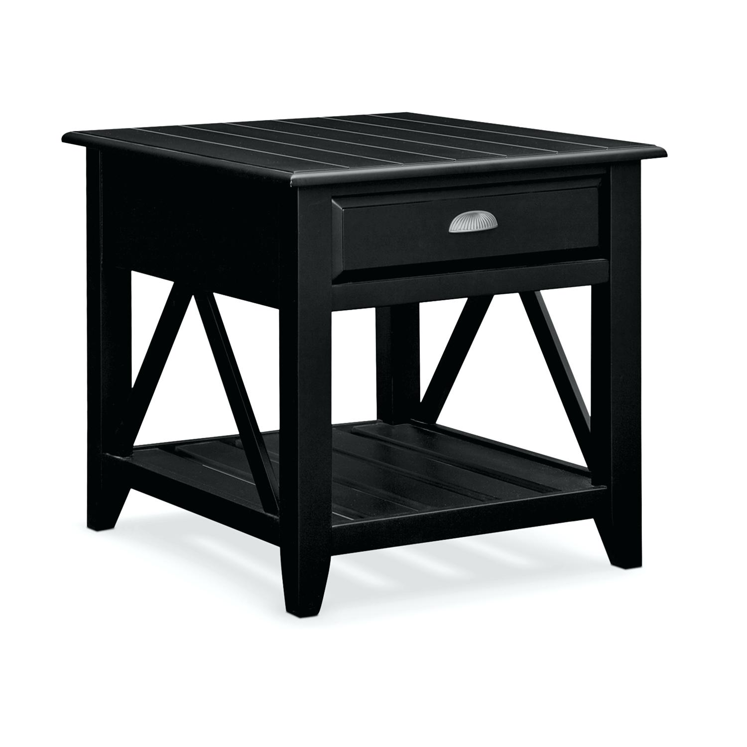 coastal end tables accent and occasional furniture plantation cove table black treasure trove large with storage wood metal inch legs way lamps vintage round ashley pub best dorm