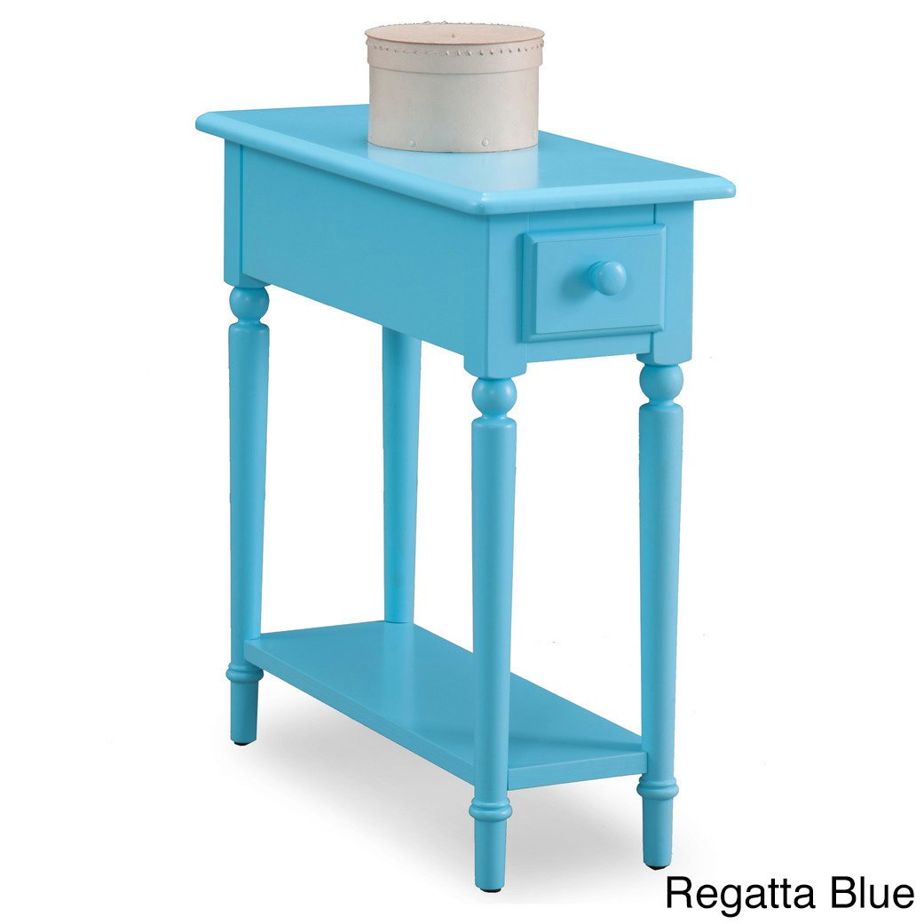 coastal white wood accent table free shipping today wicker end tables metal design glass top occasional blue lamps bedroom vintage side butcher block kitchen ashley signature sofa