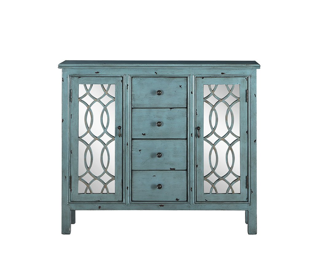 coaster accent cabinets antique blue table with inlay door desi teal design round rattan side hammered metal coffee console shelves and drawers mirrored ikea storage inch bistro